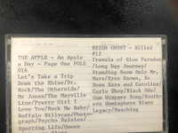 APPLE/ REIGN GHOST ALLIED 12   -VINTAGE CASSETTE