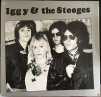 IGGY & THE STOOGES   -ST  Live 1973 -LP
