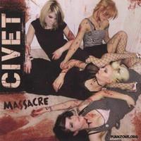 CIVET  -Massacre( all girl punkband LAST COPIES! PROMO  CD