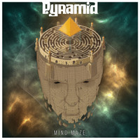 PYRAMID - MIND MAZE ( Zep/Sabbath style  70s acid rock ) BLUE VINYL  LP
