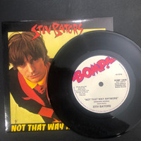 BATORS, STIV  #6 - NOT THAT WAY ANY MORE - Munster resissue in cardboard BOMP SLV   45 RPM