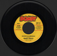 WIRTZ, MARK   -Maniac Vs Brainiac (ORIGINAL PRESSING 1980 ) 45 RPM