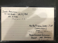 JANES ADDICTION/ 1988  ASH RA Timothy LEary TEMPLE / YELLOW SUNSHINE EXPLOSION   - ARCHIVAL GREG SHAW  CASSETTE