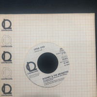 RODNEY & THE BRUNETTES   - Little GTO (Debby Harry  of BLONDIE!) 1979 German pressing  W LINE SLV. -45 RPM