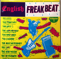ENGLISH FREAKBEAT   -Vol 1 (AIP 10039  ORIG PRESS , FIRST COVER 1988) SEALED   COMP LP