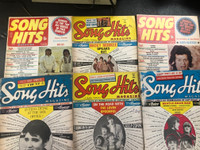SONG HITS MAGAZINE   - Set of 6 Issues - BOOKS & MAGS