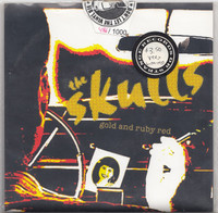 SKULLS, THE  - Gold And Ruby Red (L.A. 70s punk)-   45 RPM