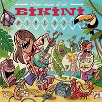BIKINI WIPEOUTS  -ETERNO VERANO AL SOL (Teenage 60s pop style)LP