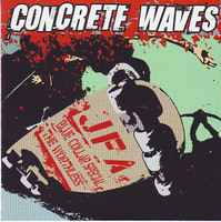 CONCRETE WAVES  -2002 skatepunk on DUANE PETER'S label  -JFA / Blue Collar Special / The Worthless - COMP LP