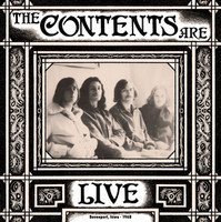 CONTENTS ARE   - Live Davenport, Iowa 1968 (Legends of psych gem) LP
