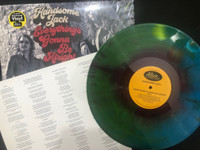HANDSOME JACK  - Everything is Gonna be Alright - w DOUBLE SIDED LYRIC SHEET-LAST FEW ON STARBURST VINYL