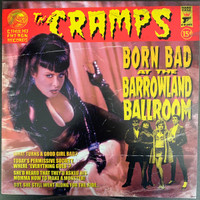 CRAMPS  - BORN BAD AT THE BARROWLAND BALLROOM Feb 1980- PREORDER!   LP