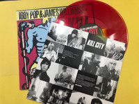 IGGY KILL CITY- RESTORED, RE-MIXED & REMASTERED  LTD ED CLEAR RED VINYL
