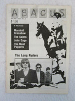 ABACUS- Long Ryder, John Cage Meat Puppets   -FEB 1988  BOOKS & MAGS