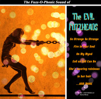 EVIL FUZZHEADS   -THE FUZZ-O-PHONIC SOUND OF (60s style Harmony driven fuzz psych)  LP