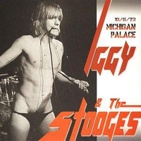 IGGY POP & THE STOOGES  - Michigan Palace  RED VINYL -10/6/73  LP