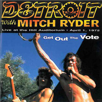 DETROIT- with Mitch Ryder -Get Out the Vote  - CD
