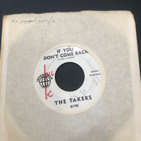 TAKERS- Think   (Liverpool, UK 1964 beat group)  45 RPM
