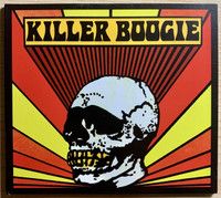 KILLER BOOGIE  - DETROIT ('70s riffs and bluesy frequencies) BLACK  LP