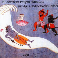 ELECTRIC PSYCHEDELIC SITAR HEADSWIRLERS  VOL 9 (60s and '70s psych obscurities) COMP CD