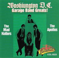 WASHINGTON DC GARAGE BAND GREATS   - Mad Hatters/Apollos (killer  60s DC punk ) COMP CD