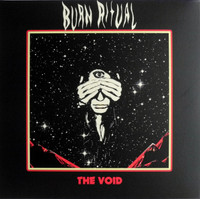 BURN RITUAL  -THE VOID (doom, stoner rock, heavy psych and a sound that oozes Sabbath-  RED VINYL   LP