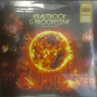 KRAUTROCK & PROGRESSIVE  - SECRET ARCHIVES (60s and 70s UK and German prog rock/pop, psych & kraut -MARBLE VINYL DBL COMP LP