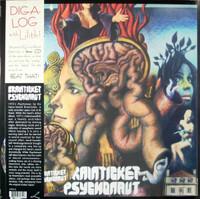 BRAINTICKET   - PSYCHONAUT  (ACID PSYCH 1971) CLEAR VINYL  +CD)  LP