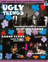 UGLY THINGS  - 56  VELVET UNDERGROUND  -BOOKS & MAGS