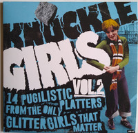 KNUCKLE GIRLS, VOL. 2  -14 BOVVER BLITZERS FROM THE SEQUINED SISTERS TUFF ENUFF TO RUMBLE WITH ANY MISTER-  COMP LP