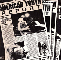 AMERICAN YOUTH REPORT   - VA WAREHOUSE FIND 1982 pressing-  COMP LP