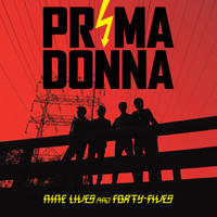 PRIMA DONNA  - Nine Lives and Forty Fives -GREAT ROCK AND ROLL! RED COVER - DIGIPACK CD