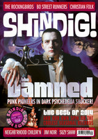 SHINDIG!  - #44 DAMNED , ROCKINGBIRDS AND ME, SUZY SHAW! -   BOOKS & MAGS