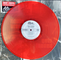 HOLLIS BROWN   - Gets Loaded - TRIBUTE TO LOU REED!  RUBY RED VINYL LTD ED OF 150-