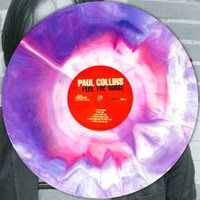 COLLINS, PAUL - Feel The Noise  w/ Nikki Corvette (POWER POP  former NERVES ) STARBURST VINYL LP