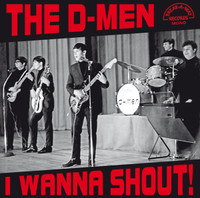 D - MEN - I Wanna Shout (US mid 1960's british invasion style Garage) 4 page insert-LP