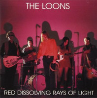LOONS - Red Dissolving Rays of Light (60s style garage psych) BLACK VINYL LP