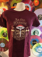 RADIO MOSCOW  - Magical Dirt - MAROON  T SHIRT -