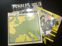 PEBBLES 3 LP BUNDLE- LAST COPIES OF ALL AVAILABLE VOLUMES AFTER PEBBLES 10!    Vol #13,#16,#28, COMP LP
