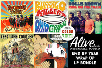 ALIVE 2013  LP WRAP UP -ALL releases ON COLOR OR STARBURST  LP