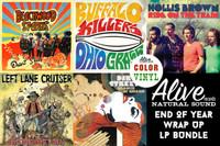 ALIVE 2013  LP WRAP UP -ALL releases ON COLOR OR STARBURST  LP
