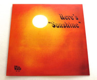 RICE, LARRY - Here's Sunshine (Private press Texas 60s)180 gram w insert  ONE ONLY! LP