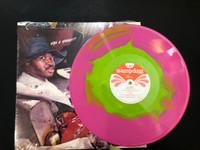 SWAMP DOGG - AUTOGRAPHED! Gag a Maggot  GREEN & PINK SWIRL LTD ED LP
