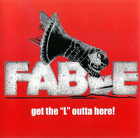 "FABLE - Get The ""L"" Outta Here (STONER Hendrix style w. insert, ad photos)DINGED CORNER BARGAIN! DBL LP"