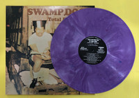 SWAMP DOGG - AUTOGRAPHED! TOTAL DESTRUCTION TO YOUR MIND- gatefold COLOR SWIRL LP