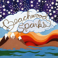 BEACHWOOD SPARKS- ST (great country psych pop w BRENT FROM GOSPELBEACH)LAST COPIES BLUE VINYL  LP