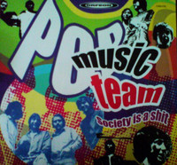 POP MUSIC TEAM-- Society Is A Shit  (ultra rare Mexican  60s psych Iron Butterfly/Doors style ) CD