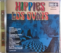 OVNIS, LOS -Hippies  (rare Mexican 60s psych) CD