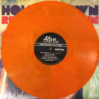 HOLLIS BROWN   - Ride on the Train LAST COPIES OF FIRST PRESSING!  Ltd ed of 200 180 gram Atomic Orange vinyl -   LP
