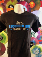 "ALIVE ""PLAY IT LOUD ""   LAST ONES!  SMALL ONLY- SHORT SLEEVED SHIRT"